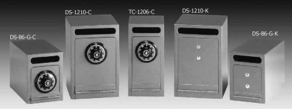 Gardall Under Counter Depositories Utility B Rated Safes