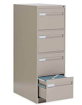 Global Total Office, 2800 Series Vertical File Cabinets