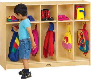Toddler Coat Locker 2684JC