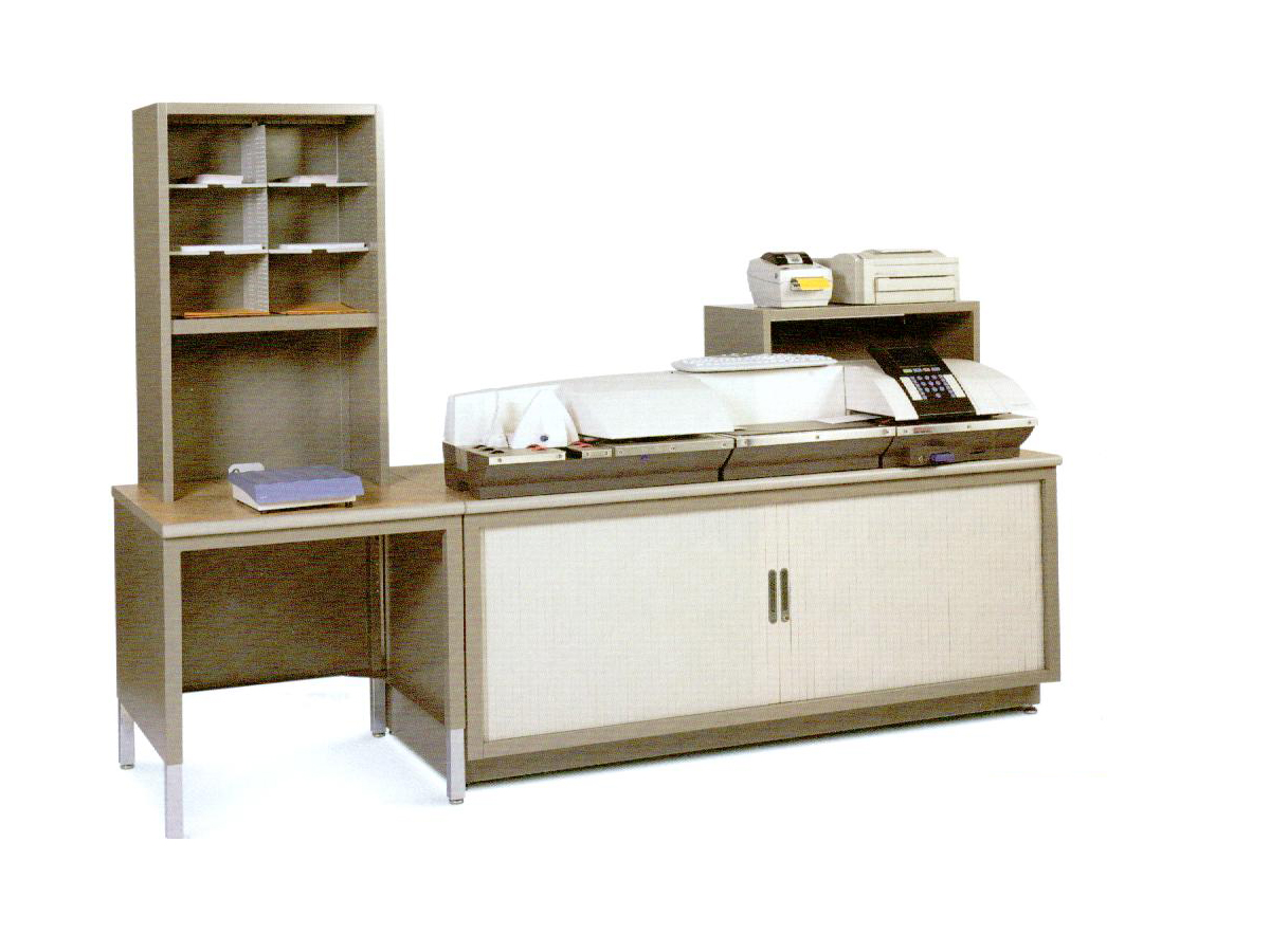 Mayline Kwik File 174 Meter Machine Workstation