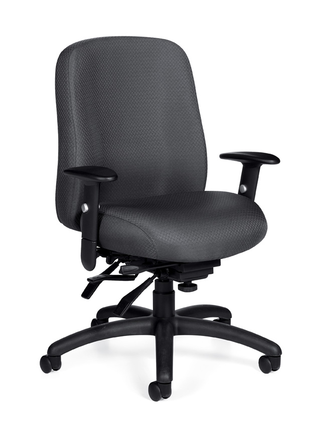 Offices to go multi function chair with adjustable arms for Function chairs