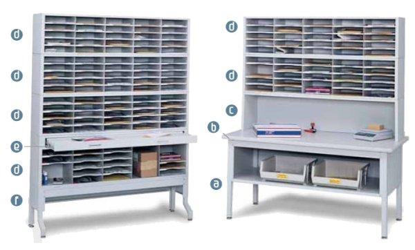 Etonnant E Z Sort Mailroom Furniture