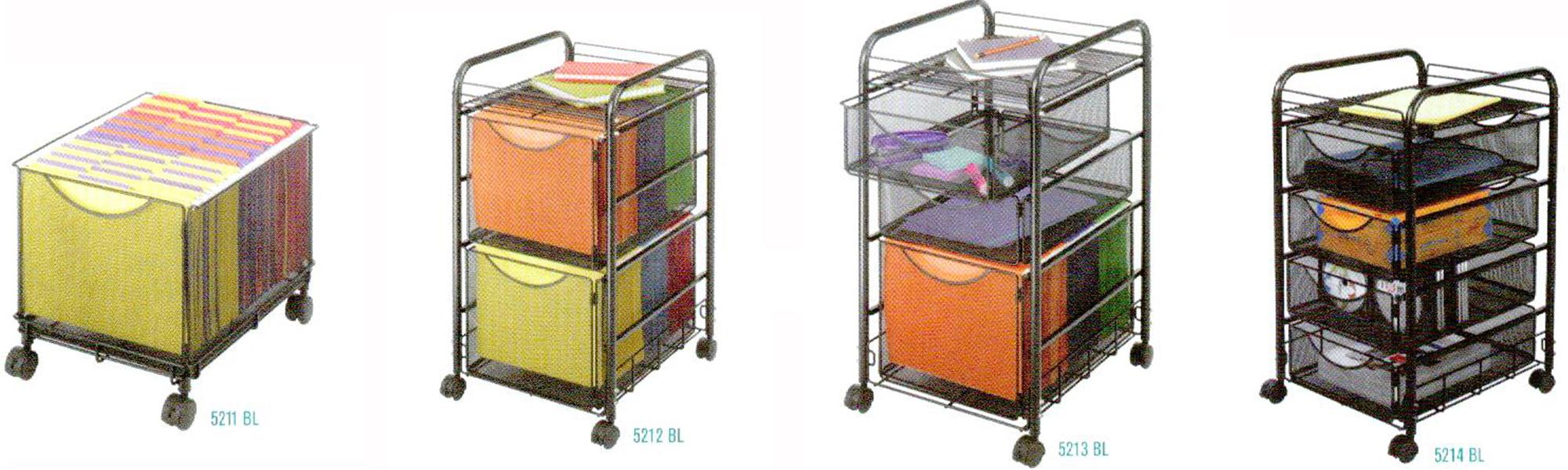 Onyx Mesh File Carts