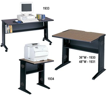 Safco Reversible Top Computer Desks 1930 1931 1933 1934