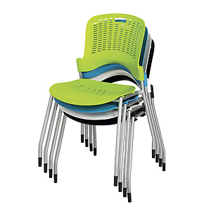 ... Safco Sassy Stack Chair