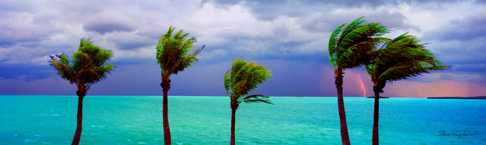 Heavy Weather in the Florida Keys by Steve Vaughn