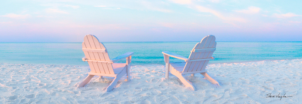 836 Beach Chairs By Steve Vaughn