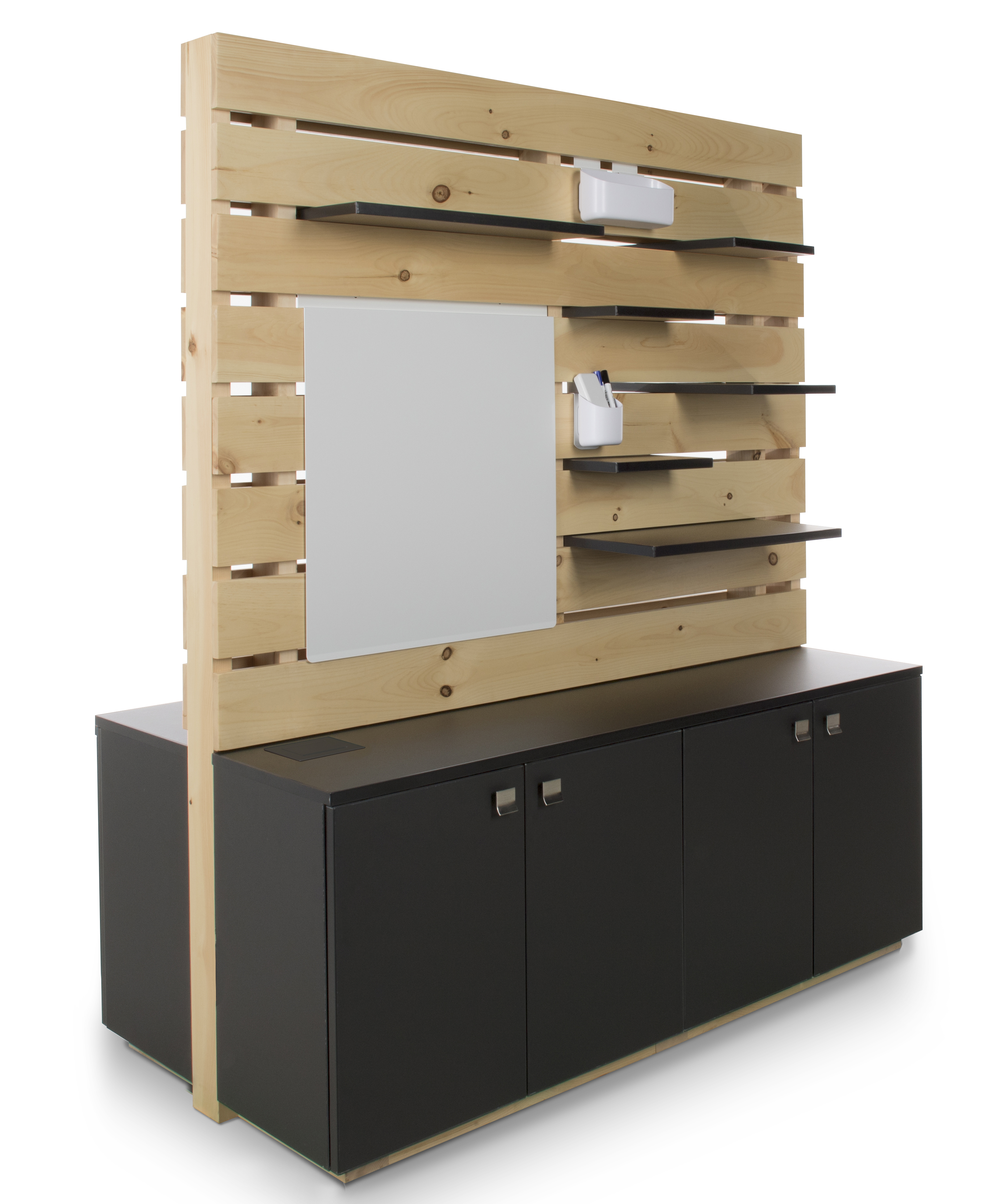 Waddell Pallet Series Space Divider Displays